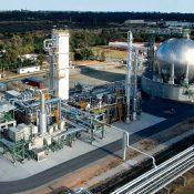 بررسی فناوریهای مایعسازی گاز طبیعی و انتخاب فناوری بر مبنای قابلیت افزایش مقیاس و انجام طراحی مفهومی فناوری منتخب